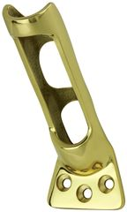 "Cast Brass Flag Pole Wall Bracket - For 1"" Pole Diamter"