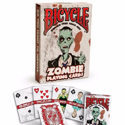 Zombie Bicycle Playing Cards Standard Index Standard Index Playing Cards
