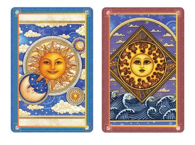 Sun & Moon Duet Standard Index Playing Cards