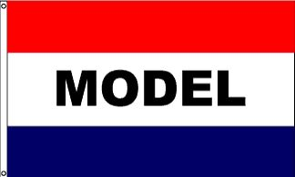 Model Message Flag - 3' x 5' - Nylon