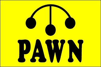 Pawn Flag - 3' x 5' - Nylon