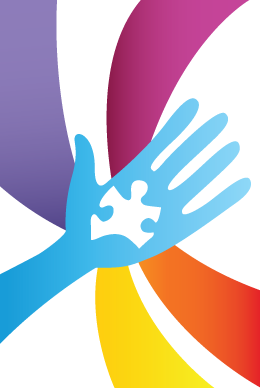 Helping Hand To Autism Puzzle Piece