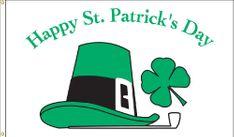 St. Patrick's Day Flag - 3' x 5' - Nylon