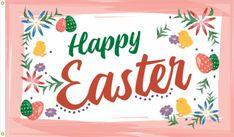 Easter Lillies Flag - 3' x 5' - Nylon