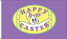 Easter Flag - 3' x 5' - Nylon