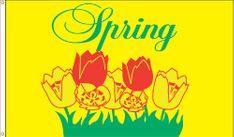 Spring Flag - 3' x 5' - Nylon