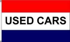 Used Cars Message Flag - 3' x 5' - Nylon