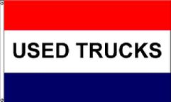 Used Trucks Message Flag - 3' x 5' - Nylon