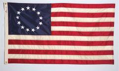 Betsy Ross Flag - 3' x 5' - Fully Sewn Nylon