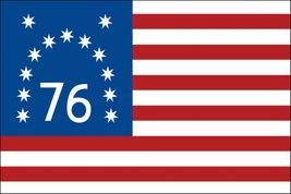 Bennington Flag - 4' x 6' - Aniline Dyed Nylon