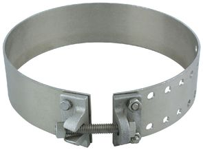Aluminum Electric Way Bracket Strap - Silver