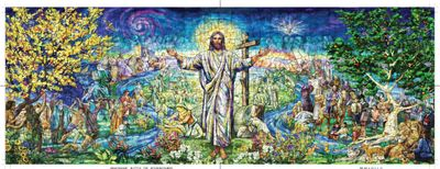 Resurrection Window 500 Piece Panoramic Puzzle