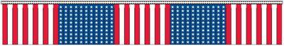 U.S. Hula Streamers - 60' - Plastic
