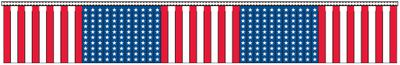 U.S. Hula Streamers - 100' - Plastic