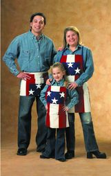 "Patriotic Apron - Adult 24"" x 28"""