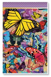Butterfly Frenzy Tally Sheets Playing Cards Accessory