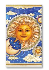 Sun and Moon Score Pads Playing Cards Accessory