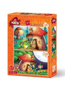 Mushroom House Puzzle Set