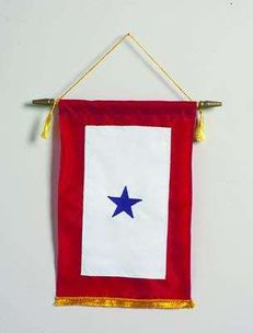 Blue Star Banner - One Star