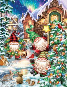 Gnome Village 500 Piece Jigsaw Puzzle
