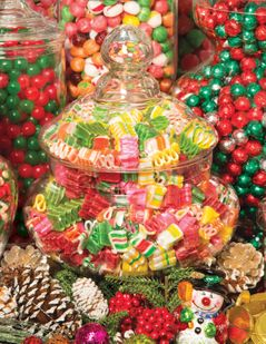 The Candy Jar 500 Piece Jigsaw Puzzle