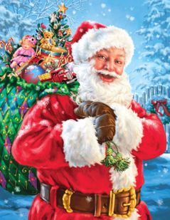 Santa's Magic Bag 120 Piece Jigsaw Puzzle