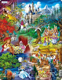 Grimms Fairy Tales 33 Piece Children's Jigsaw Puzzle