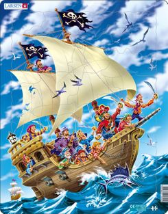 Pirates 30 Piece Children's Jigsaw Puzzle