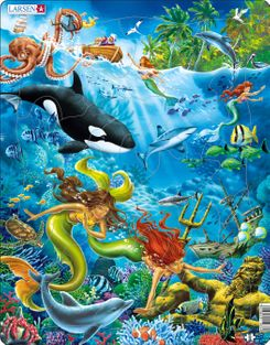 Mermaid 32 Piece Children's Jigsaw Puzzle