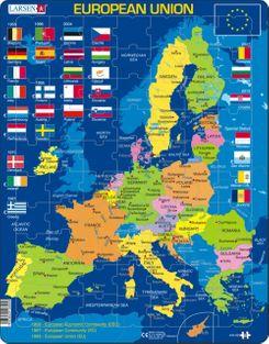 European Union 70 Piece Children's Educational Jigsaw Puzzle