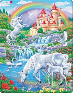 Unicorn 32 Piece Children's Educational Jigsaw Puzzle