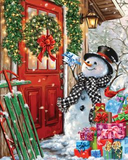 Delivering Gifts 1000 Piece Jigsaw Puzzle