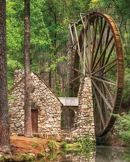 Water Wheel 36 Piece Jigsaw Puzzle