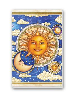 Sun and Moon Tally Sheets Playing Cards Accessory