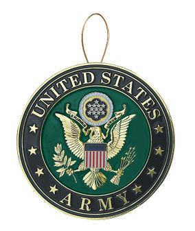 United States Army Christmas Tree Ornament