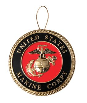 United States Marine Corps Christmas Tree Ornament