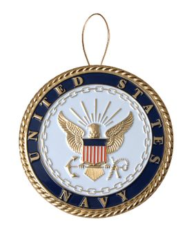 United States Navy Christmas Tree Ornament