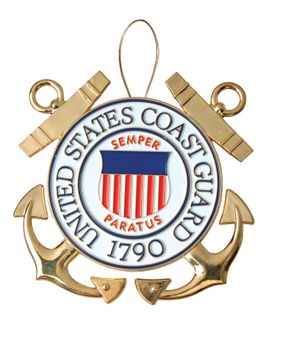 U.S. Coast Guard Christmas Tree Ornament