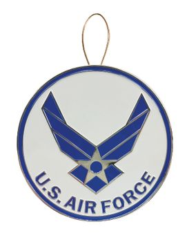 Air Force Wings Heroes Christmas Ornament
