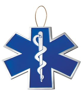 EMS Christmas Tree Ornament