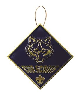 Cub Scout Christmas Tree Ornament