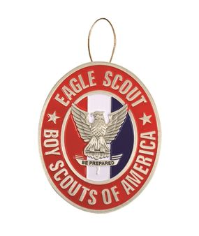 Eagle Scout Christmas Tree Ornament