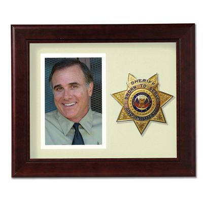 8X10 MAH VRT SHERIFF FRAME