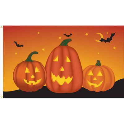 Pumpkin Flag - 3' x 5' - Nylon
