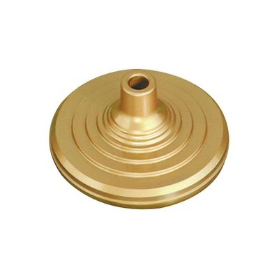 Viscount Indoor Flagpole Stand - 1 to 1-1/4 Diameter Bore Gold