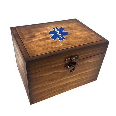 EMS Medallion Keepsake Box