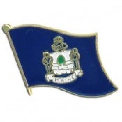 Maine Lapel Pin - Single