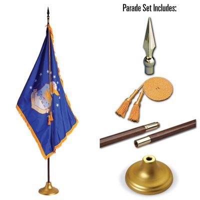 U.S. Air Force 3 x 5 Indoor Display and Parade Flag Set