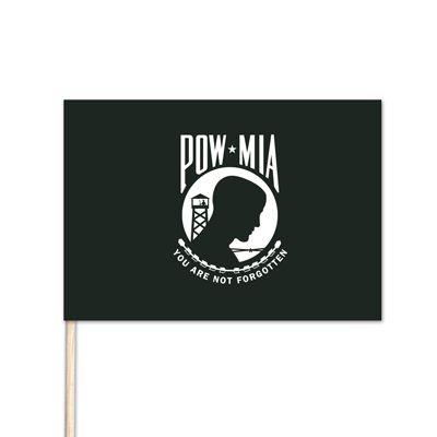 U.S. POW/MIA Stick Flag - 4' x 6' - E-Polyester