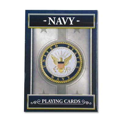 Navy Playing Cards | Heroes Series